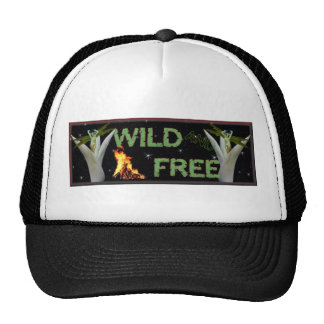 Wild and Free Trucker Hat