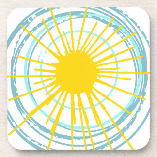 Wild and Free You Are My Sunshine Drink Coaster
