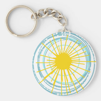 Wild and Free You Are My Sunshine Keychain