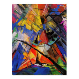 Wild and Funky Abstract Art Cards Postage Gifts Post Card