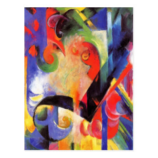 Wild and Funky Abstract Art Cards Postage Gifts Postcards