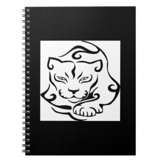Wild and Gorgeous Cougar Notebook