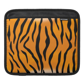 Wild and Natural Tiger Stripes Pattern iPad Sleeve
