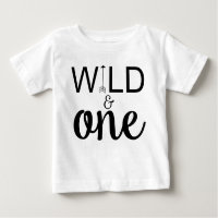 Wild and one arrow 1st birthday shirt