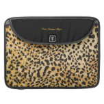 Wild and sassy leopard design. MacBook pro sleeve