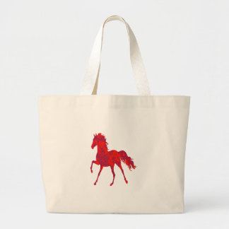 WILD AND SPIRITED LARGE TOTE BAG