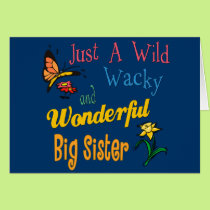 Wild And Wacky Sister Collection Card