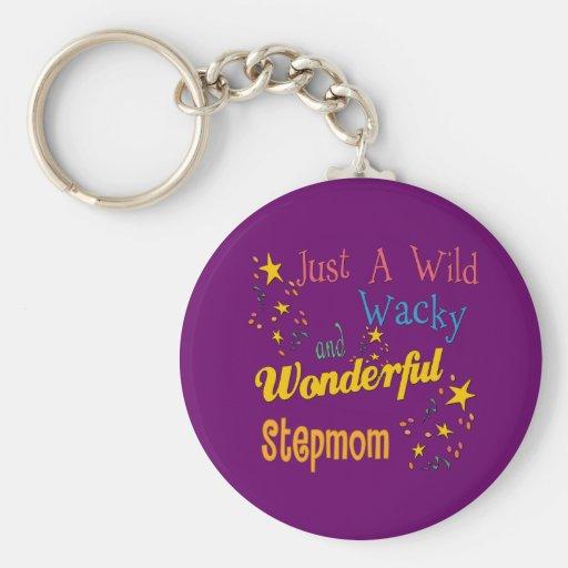 Wild and Wacky Stepmom Keychains