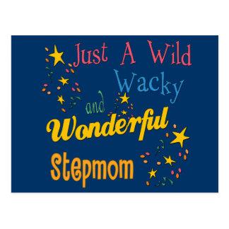 Wild and Wacky Stepmom Postcard