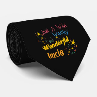 Wild And Wacky Uncle Tie