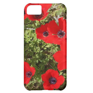 Wild Anemone Flowers In A Spring Field iPhone 5C Cover