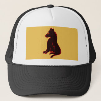 Wild Animal Abstract Art Ball Cap Hat