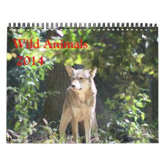 Wild Animal Calendar