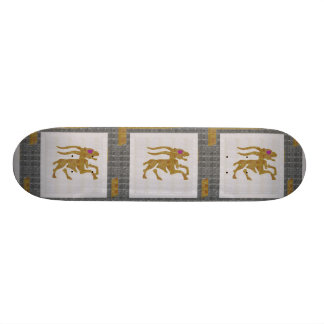 WILD ANIMAL DEER HUNT ZODIAC Graphic NAVIN JOSHI Skateboard Deck