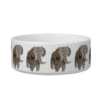 Wild Animal Elephant Art Bowl