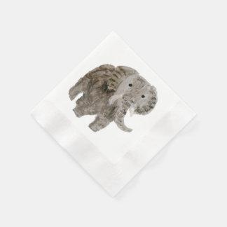 Wild Animal Elephant Art Napkin