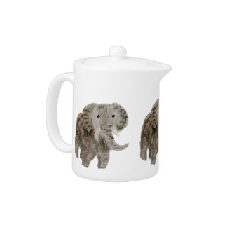 Wild Animal Elephant Art Teapot