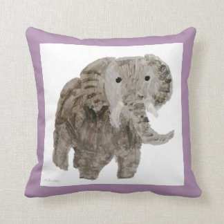 Wild Animal Elephant Art Throw Pillow