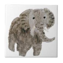 Wild Animal Elephant Art Tile