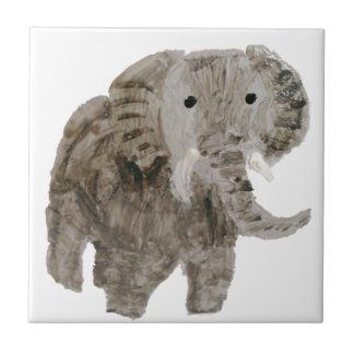 Wild Animal Elephant Art Tile