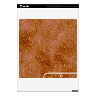 Wild Animal Fur Playstation 3 Skin PS3 Slim Console Decal