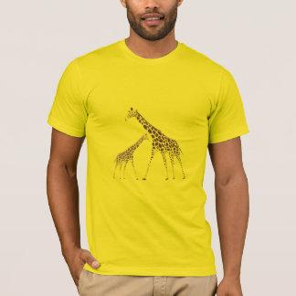 Wild Animal Giraffe Picture T-Shirt