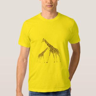 Wild Animal Giraffe Picture Tees