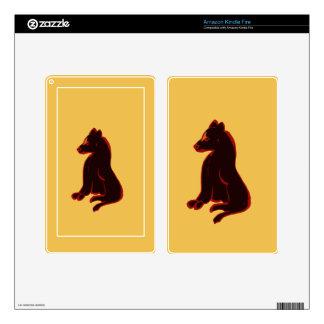 Wild Animal Kindle Skins eReader Abstract Art Gift