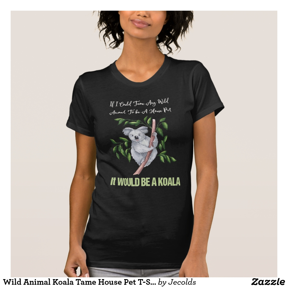 Wild Animal Koala Tame House Pet T-Shirt - Best Selling Long-Sleeve Street Fashion Shirt Designs