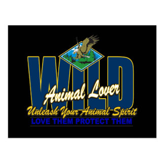 Wild Animal Lover Postcard