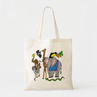 Wild Animal Party Tote Bag
