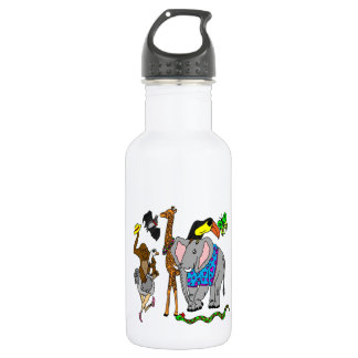 Wild Animal Party Water Bottle