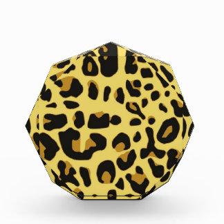 Wild Animal Pattern Acrylic Award
