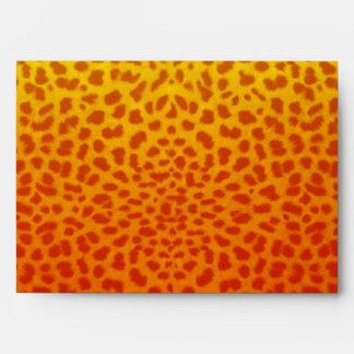 Wild  Animal pattern envelope