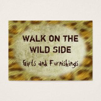 Wild Animal Prints Business Card