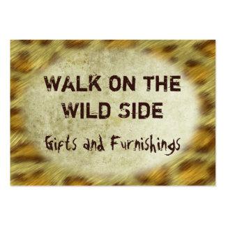 Wild Animal Prints Business Card Templates