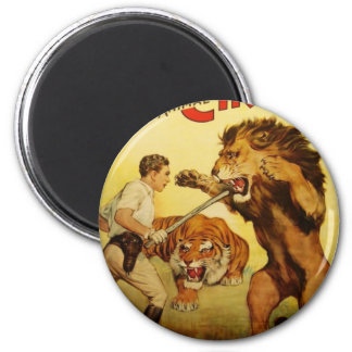 Wild Animal Tamer Magnet