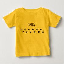 Wild Animal tracks Baby T-Shirt