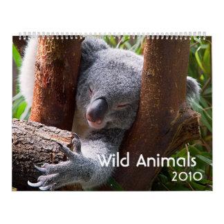 Wild Animals 2010 Calendar