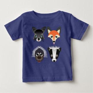 Wild Animals - Baby Fine Jersey T-Shirt