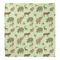 Wild animals bandana