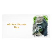 WILD ANIMALS - GORILLAS CARD