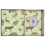 Wild animals iPad cases