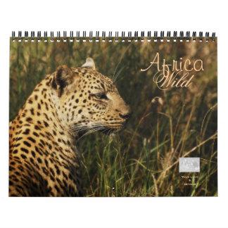 Wild animals of Africa Calendar