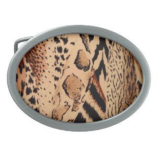 Wild Animals Pattern Belt Buckle
