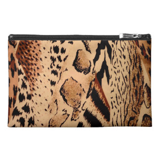 Wild Animals Pattern Travel Accessory Bag
