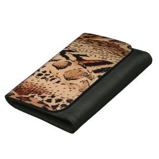 Wild Animals Pattern Wallet For Women