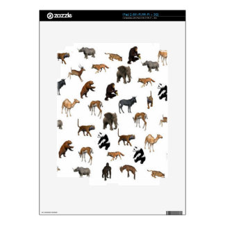 Wild Animals Decal For The iPad 2