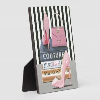 Wild Apple | Couture Stripes - Shoes & Bag Plaque