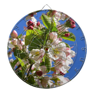 Wild Apple Tree blossoms Dartboard